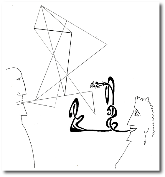 Saul Steinberg — Labrynth